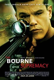 The Bourne Supremacy: On the Move with Jason Bourne Poster