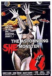 The Astounding She-Monster(1957) Poster - Movie Forum, Cast, Reviews