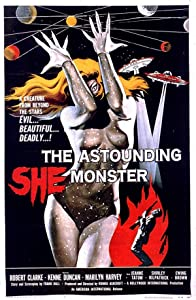 Watch hot movies hollywood The Astounding She-Monster Richard E. Cunha [420p]