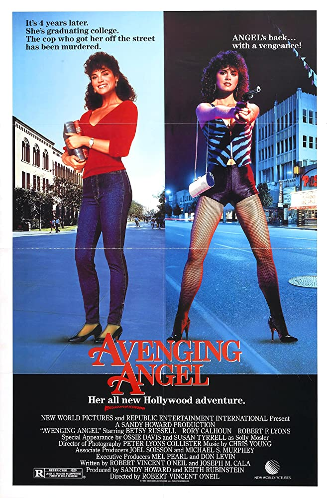 Betsy Russell in Avenging Angel (1985)