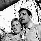 Elsa Daniel and Alejandro Rey in La casa del ángel (1957)