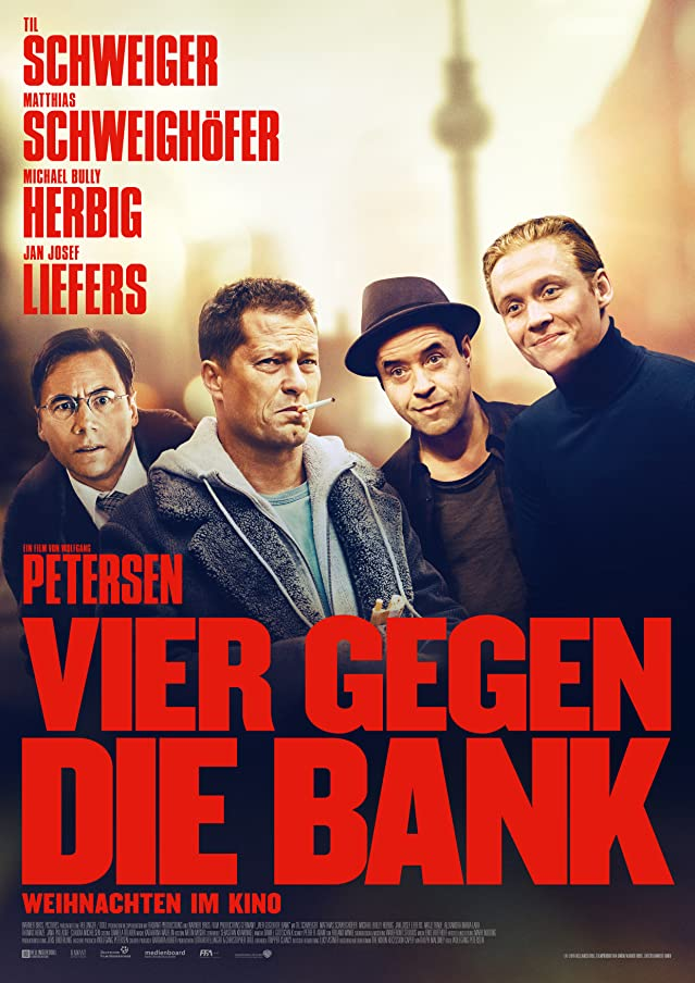 Four Against the Bank (2016) Hindi Dubbed