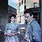 Natalya Arkhangelskaya and Vladimir Zamanskiy in Katok i skripka (1961)