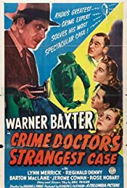 The Crime Doctor's Strangest Case Poster