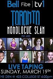 Toronto Monologue Slam Poster