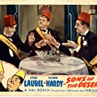 Oliver Hardy, Charley Chase, and Stan Laurel in Sons of the Desert (1933)