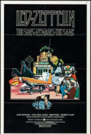 The Song Remains The Same Album Release Promo Poster Led Zeppelin 1976