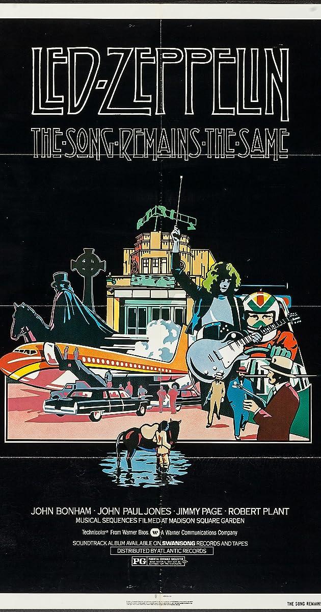 The Song Remains the Same (1976) - IMDb