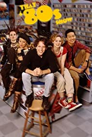Brittany Daniel, Tinsley Grimes, Chyler Leigh, Glenn Howerton, and Eddie Shin in That '80s Show (2002)