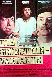Die Grünstein-Variante Poster