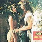 Ritza Brown and Miles O'Keeffe in Ator l'invincibile (1982)