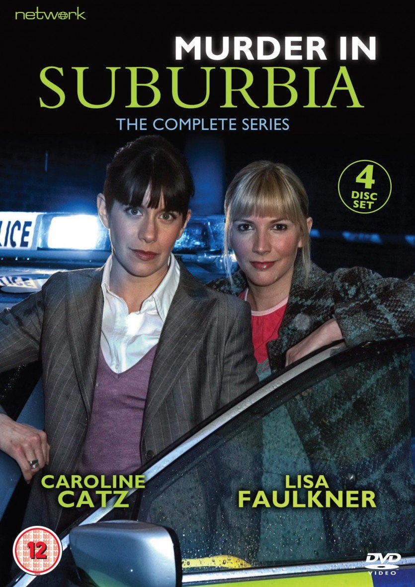 Caroline Catz and Lisa Faulkner in Murder in Suburbia (2004)
