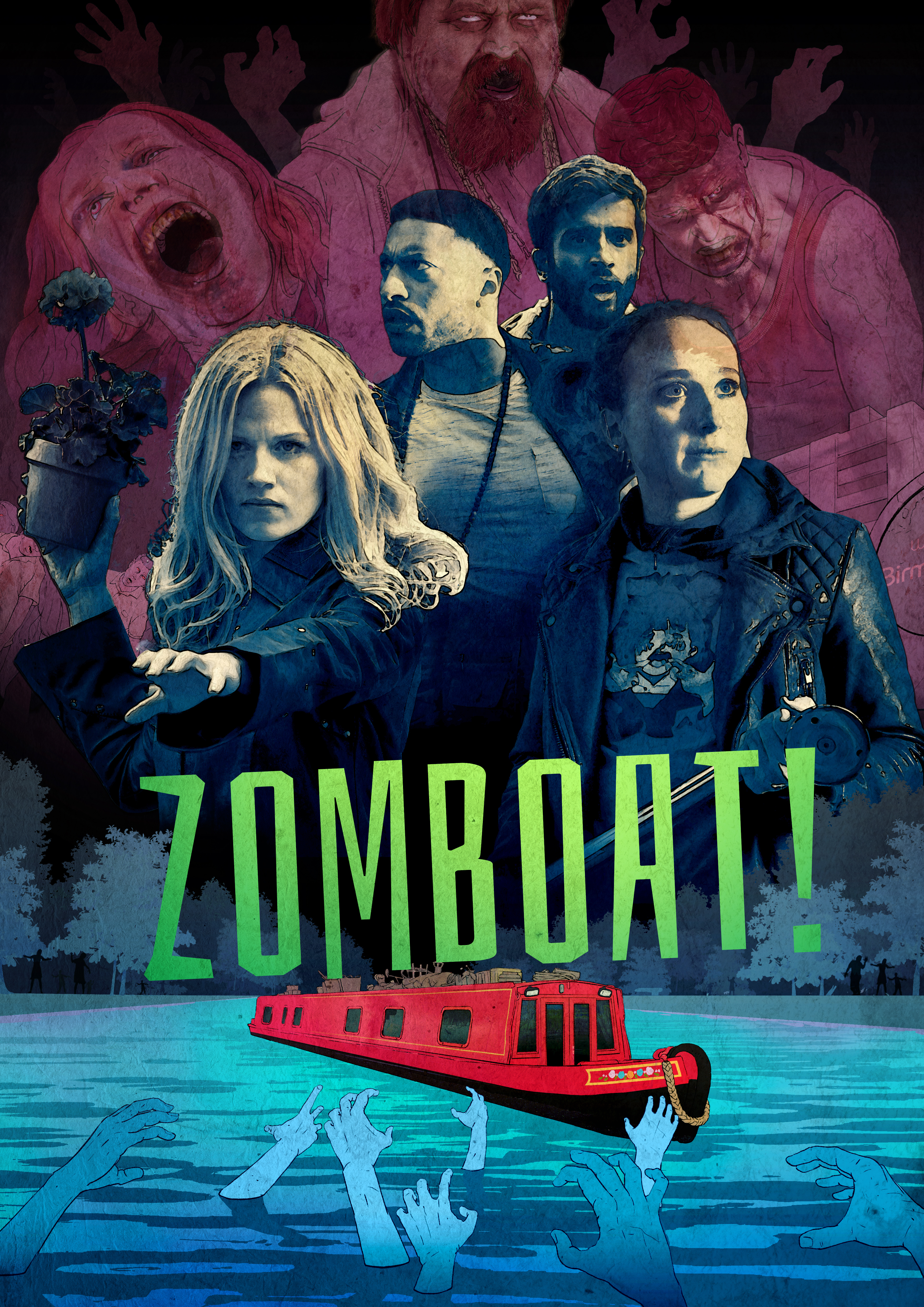 Zombių valtis (1 Sezonas) / Zomboat! Season 1