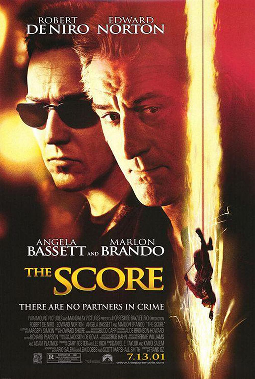 The Score 2001 Hindi Dubbed 500MB BluRay ESubs