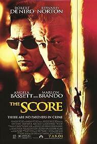 Robert De Niro and Edward Norton in The Score (2001)