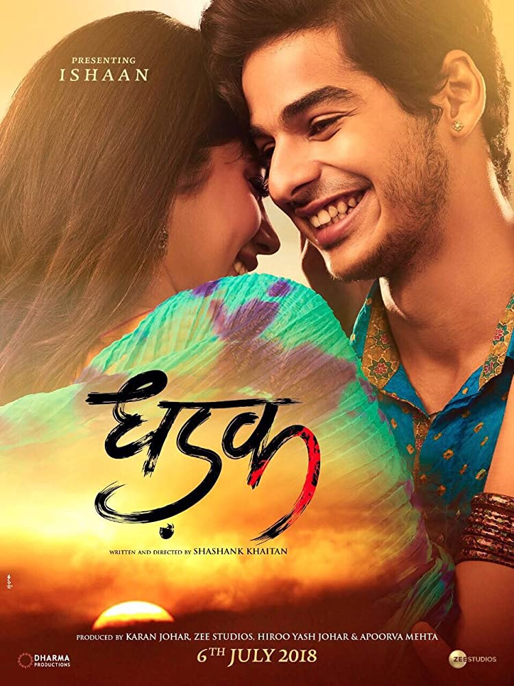 Dhadak (2018) Hindi PreDVDRip 700MB AAC MKV