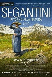 Segantini - Ritorno alla natura Poster