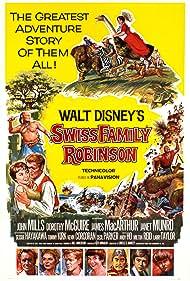 Swiss Family Robinson (1960) Poster - Movie Forum, Cast, Reviews