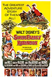 Swiss Family Robinson (1960) Poster - Movie Forum, Cast, Reviews