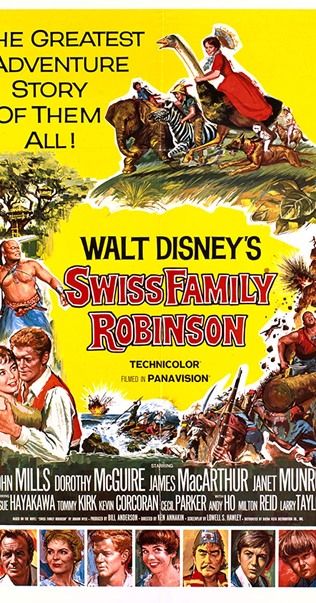 Subtitle of Swiss Family Robinson