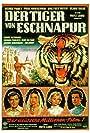 Paul Hubschmid, Sabine Bethmann, Debra Paget, and Walther Reyer in Der Tiger von Eschnapur (1959)
