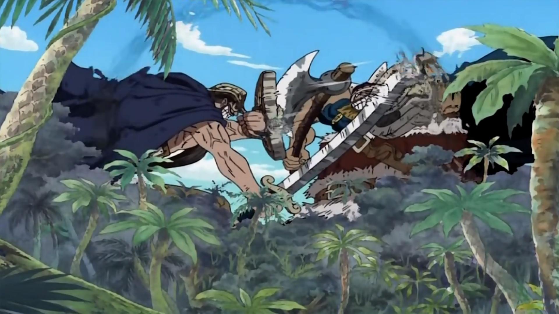 "One Piece"" Dekkai Kettou! Kyojin Dorry to Brogy (TV Episode 2001) - IMDb"