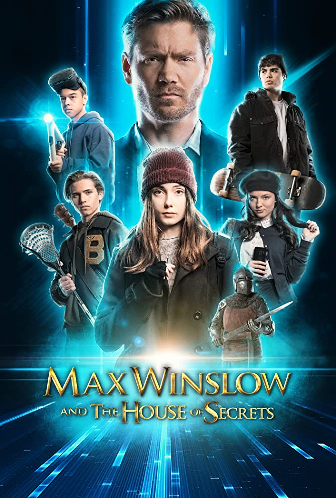 Max Winslow and the House of Secrets 2020 Dual Audio Hindi 300MB HDRip 480p ESubs Free Download
