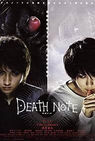 Tatsuya Fujiwara and Ken'ichi Matsuyama in Death Note: Desu nôto (2006)