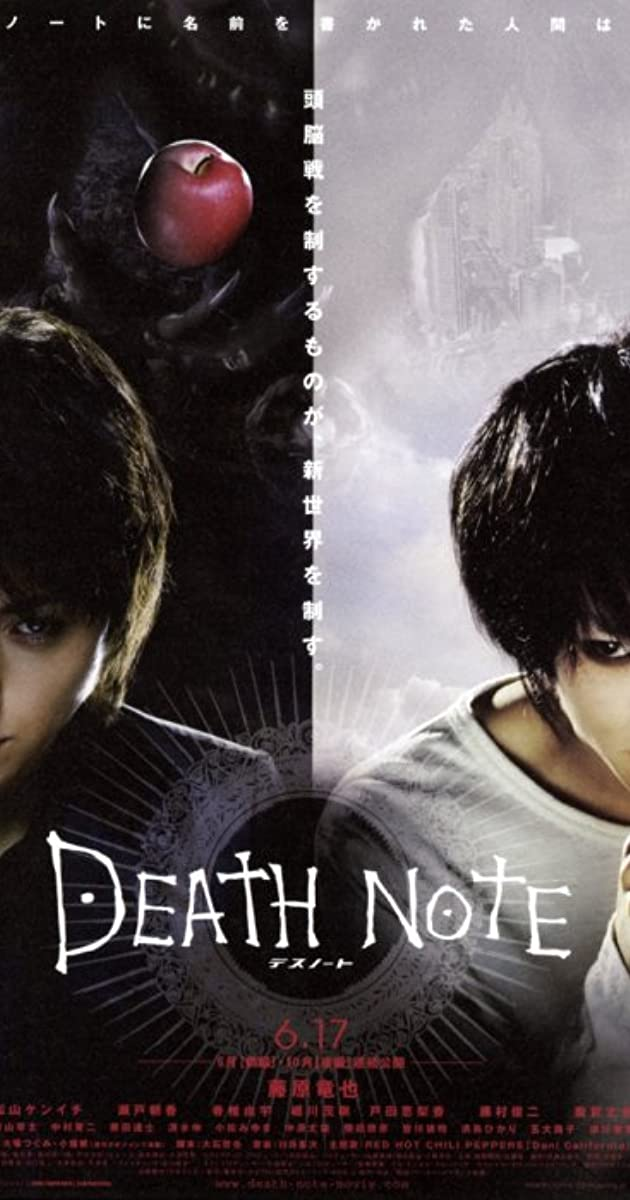 Death Note Desu Noto 2006 Imdb