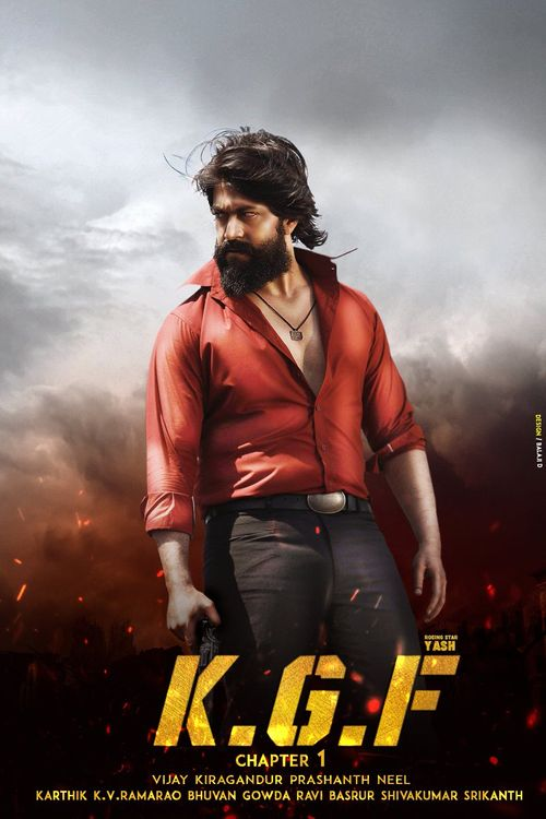 K.G.F: Chapter 1 (2018) Hindi WEB-Rip – 1080P HEVC – x264 – 3.8GB 10bit – Download & Watch Online