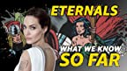 Angelina Jolie is entering the Marvel Cinematic Universe, and she's bringing Kumail Nanjiani, Kit Harrington, and Richard Madden with her. Here's what we know about 'Eternals' ... so far.