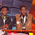 Jaden Smith and Willow Smith in Nickelodeon Kids' Choice Awards 2012 (2012)