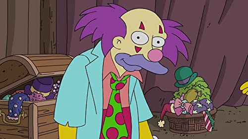 The Simpsons: Krusty Meets The Clowns
