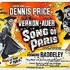 Mischa Auer, Hermione Baddeley, Dennis Price, and Anne Vernon in Song of Paris (1952)