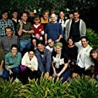 David Bleiman Ichioka, Christopher Calvi, Jo Carson, Ollie Green, John Nolan, Tennessee Reid Norton, Brian Ormiston, Ken Pontac, and Karen Hout in The Online Adventures of Ozzie the Elf (1997)