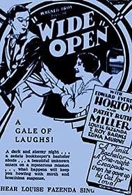 Wide Open (1930) Poster - Movie Forum, Cast, Reviews