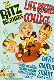 Life Begins in College Poster