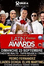 4th Canada Latin Awards Poster