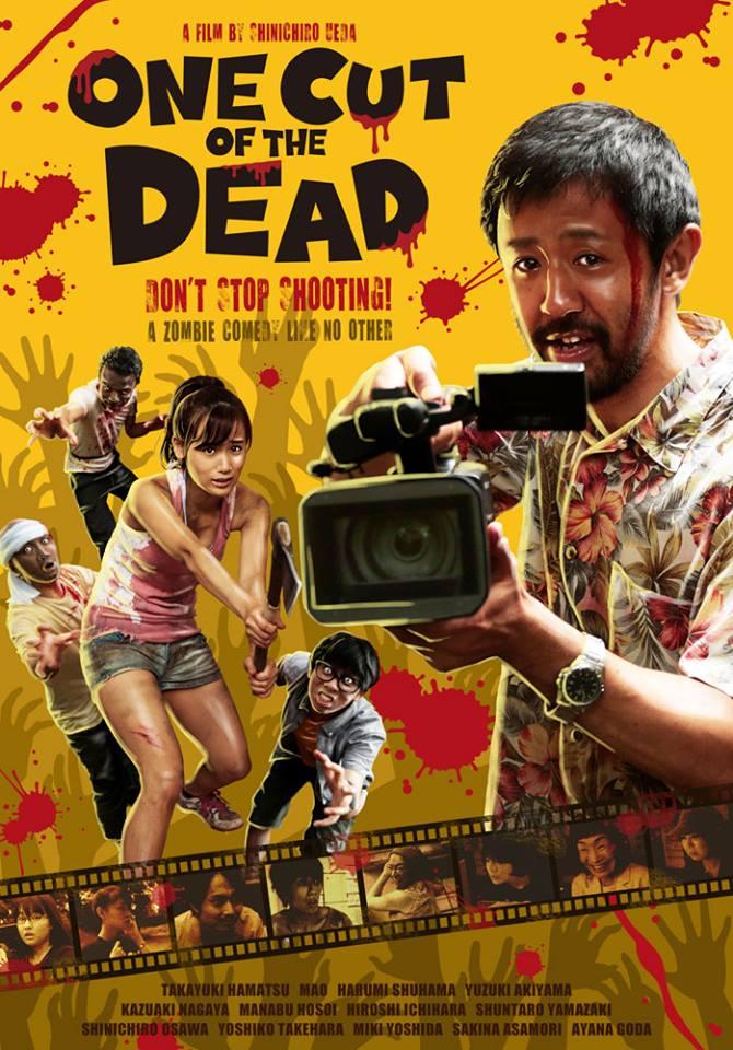 Resultado de imagem para one cut of the dead poster