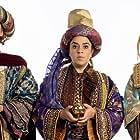 Nancy Zamit, Jonathan Sayer, and Bryony Corrigan in The Nativity (2020)