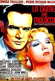 La dame de Malacca Poster