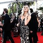 Rose Harlean attending the premiere of TOUT S'EST BIEN PASSÉ (directed by François Ozon) At the 74th Cannes Film Festival, July 2021