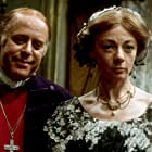 Geraldine McEwan and Clive Swift in The Barchester Chronicles (1982)