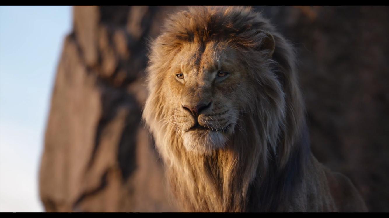 James Earl Jones in The Lion King (2019)
