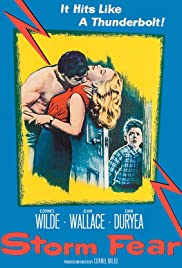 Storm Fear (1955) Poster - Movie Forum, Cast, Reviews