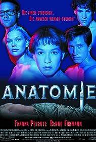 Franka Potente, Sebastian Blomberg, Benno Fürmann, Anna Loos, and Holger Speckhahn in Anatomie (2000)