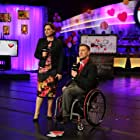 Marco Pasqua and Dawna Friesen at the 2016 Show of Hearts Telethon