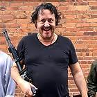 Ivan Kaye, David Burnell IV, and Jack Bandeira in Gunpowder Milkshake (2021)