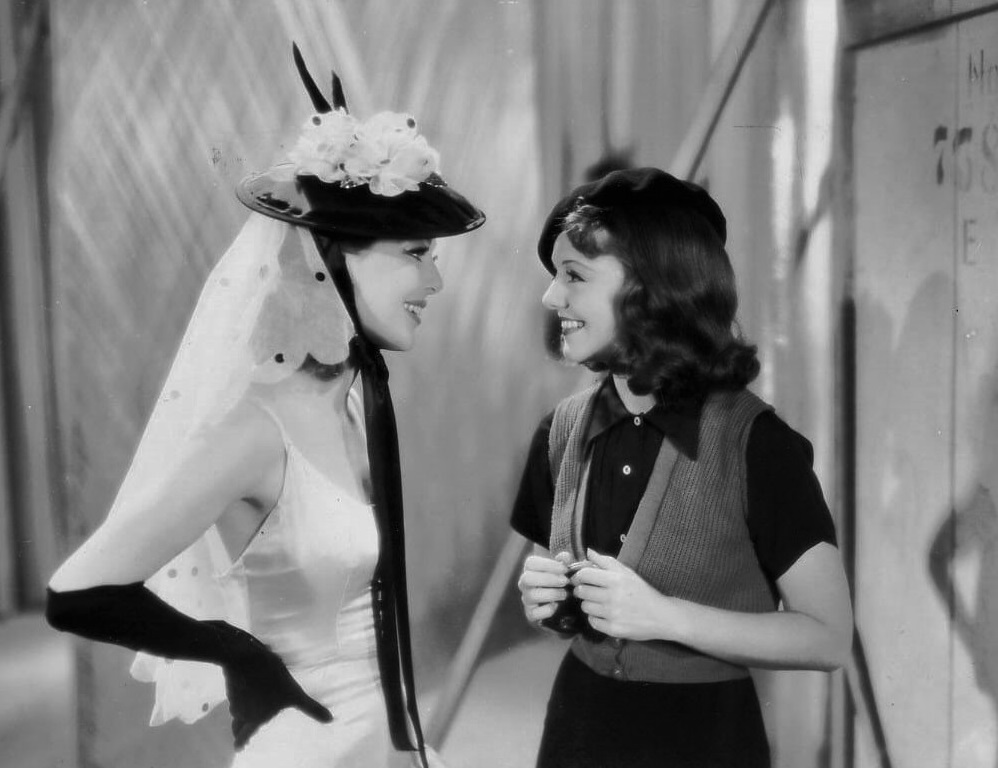Janet Gaynor and Loretta Young in Ladies in Love (1936)