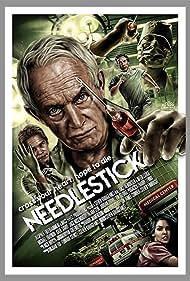 Lance Henriksen, Jack Noseworthy, George Pogacich, Michael Traynor, and Katie Savoy in Needlestick (2017)